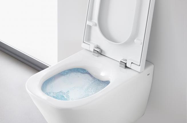 Toaleta bezkołnierzowe