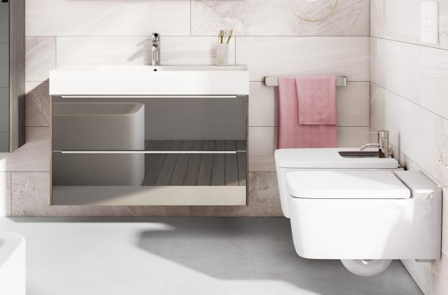 Funkcjonalne mable łazienkowe