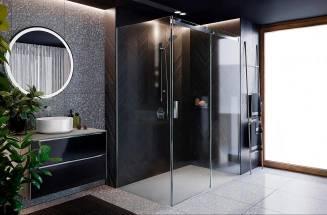 Ekskluzywna łazienka z kabinami prysznicowymi Area