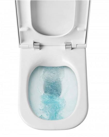Toaleta bezkołnierzowa