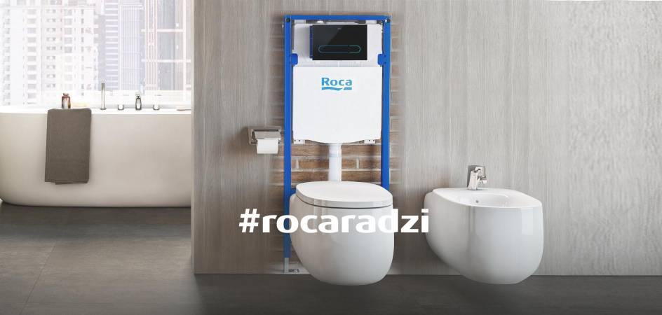 Porady ekspertów – stelaże podtynkowe do misek WC   Roca